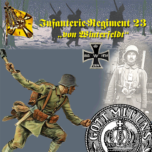 1./Infanterie_Regiment 23 mobile banner